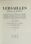 Versailles songes et regrets 1944 - Lithographies de Clavé, Grau Sala, Salvat .. - Photo 2, livre rare du XXe siècle