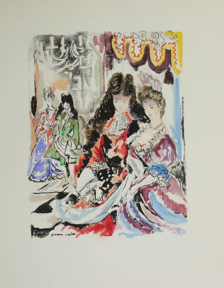 Versailles songes et regrets 1944 - Lithographies de Clavé, Grau Sala, Salvat .. - Photo 3, livre rare du XXe siècle