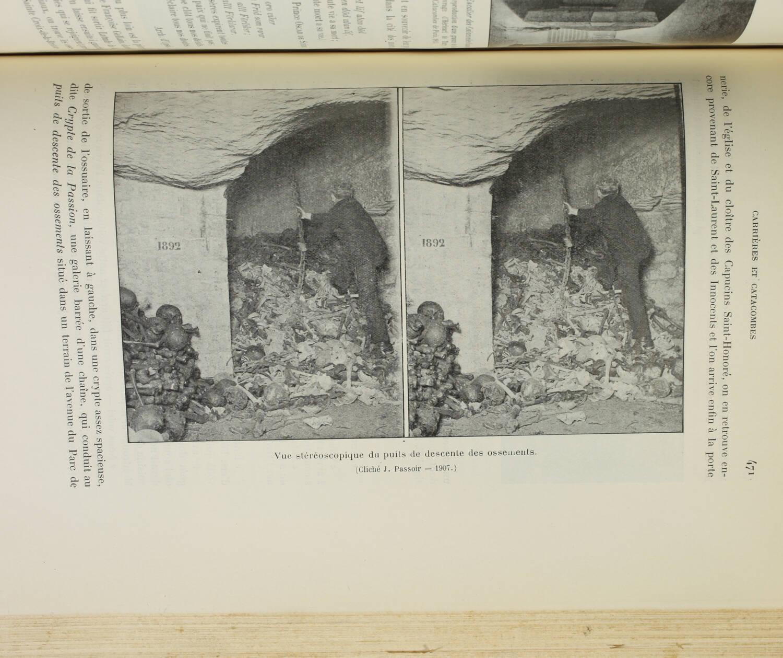 GERARDS - Paris souterrain - 1909 - Catacombes, carrières ... - Rare - Photo 3, livre rare du XXe siècle