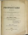 VITRY - Le propriétaire architecte - 1838 - In-4 - 100 planches - Photo 4, livre rare du XIXe siècle