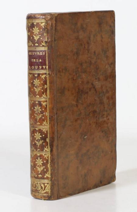 LA LOUPTIERE (Jean Charles de Relongue, seigneur de). Poésies et oeuvres diverses, livre ancien du XVIIIe siècle