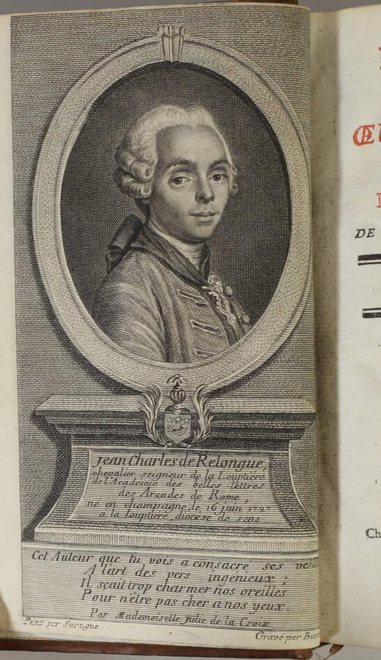 LA LOUPTIERE - Poésies et oeuvres diverses - 1768 - Photo 1, livre ancien du XVIIIe siècle