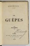 KARR - Les guêpes - 1839-1840 - Reliure de Bauzonnet-Trautz - Petits formats - Photo 2, livre rare du XIXe siècle