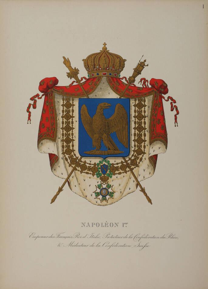 REVEREND et VILLEROY - Armorial du premier empire - Album des armoiries - 1911 - Photo 0, livre rare du XXe siècle