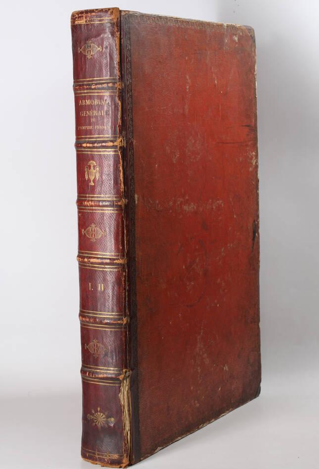 Simon - Armorial général de l Empire - 1812 - 2 tomes - In folio - Demi maroquin - Photo 0, livre ancien du XIXe siècle