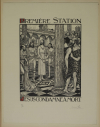 JOU - Le Chemin de la Croix 1915-1916 - 15 planches - bois gravés - Grand format - Photo 9, livre rare du XXe siècle