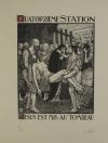 JOU - Le Chemin de la Croix 1915-1916 - 15 planches - bois gravés - Grand format - Photo 5, livre rare du XXe siècle
