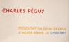 PEGUY Présentation de la Beauce à N-D de Chartres 1964 Alfred Manessier - Signé - Photo 3, livre rare du XXe siècle