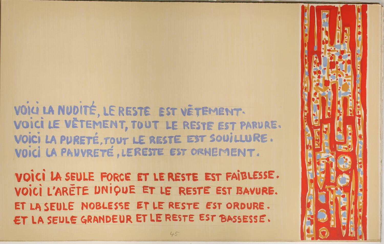 PEGUY Présentation de la Beauce à N-D de Chartres 1964 Alfred Manessier - Signé - Photo 8, livre rare du XXe siècle