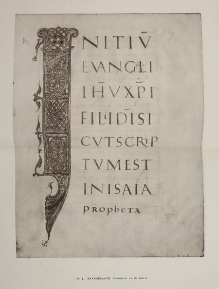 . Collection de M. L. D. Manuscrits avec miniatures du IXe au XVe siècle, livre rare du XXe siècle