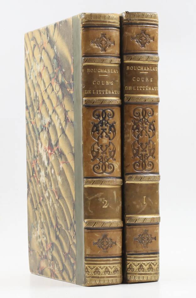 BOUCHARLAT - Cours de littérature faisant suite au Lycée de La Harpe - 1826 - 2v - Photo 0, livre rare du XIXe siècle