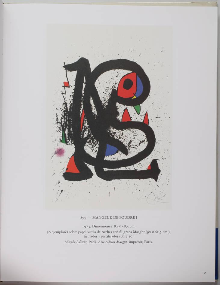CRAMER - Joan Miro. Litografo. V : 1972-1975 - Maeght, 1992 - Photo 1, livre rare du XXe siècle