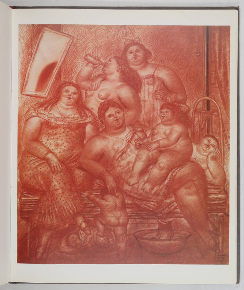 Vargas Llosa - Botero - Dessins et aquarelles - 1984 - Photo 0, livre rare du XXe siècle