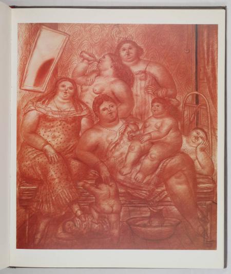 VARGAS LLOSA (Mario). Botero. Dessins et aquarelles, livre rare du XXe siècle