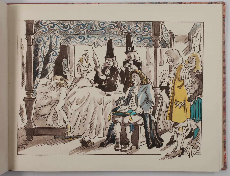 Confrères de jadis et naguère - Illustrations de Lefbvre notaire à Rubempré 1949 - Photo 3, livre rare du XXe siècle
