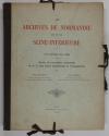 [Paléographie] CHEVREUX - Ecritures du XIe au XVIIIe siècle - Normandie - 1911 - Photo 1, livre rare du XXe siècle