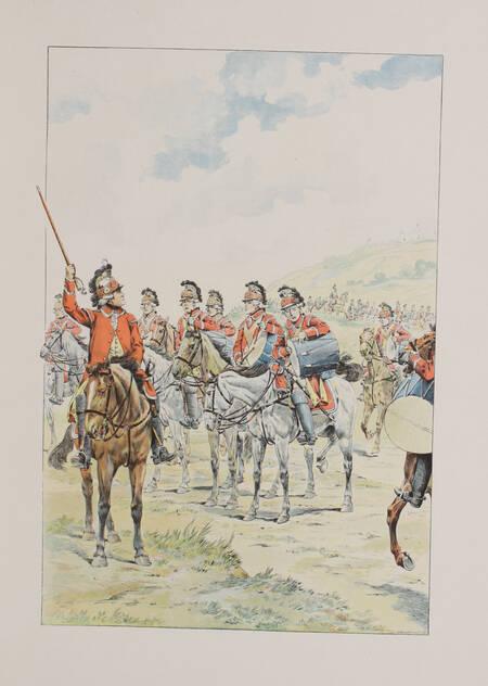 BOUCHOT - L épopée du costume militaire français - 1898 - Illustré par Job - Photo 2, livre rare du XIXe siècle