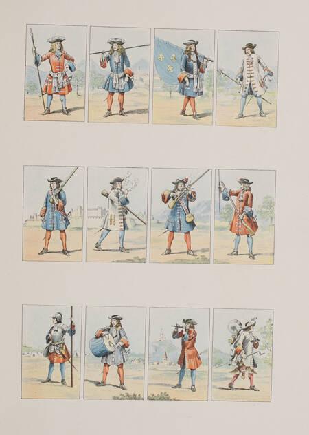 BOUCHOT - L épopée du costume militaire français - 1898 - Illustré par Job - Photo 5, livre rare du XIXe siècle