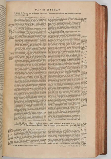 BAYLE - Dictionnaire historique et critique -  1741 - 4 volumes in-folio - Photo 4, livre ancien du XVIIIe siècle