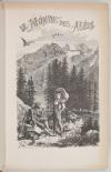 TSCHUDI - Le monde des Alpes - Description pittoresque -1870 - Gravures - Photo 3, livre rare du XIXe siècle