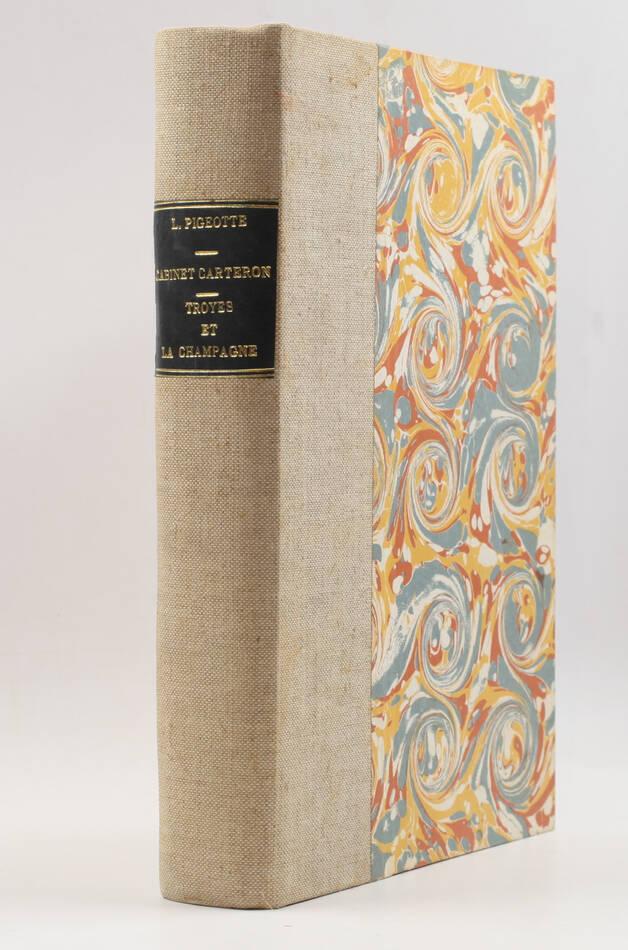 [Carteron] Catalogue d ouvrages et pièces concernant Troyes, la Champagne - 1875 - Photo 0, livre rare du XIXe siècle