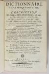 VOSGIEN - Dictionnaire géographique - 1762 - Mappemonde et carte - Photo 2, livre ancien du XVIIIe siècle