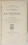 Comtesse de la Bouëre - La guerre de Vendée (1793-1796) - 1890 - EO - Photo 1, livre rare du XIXe siècle