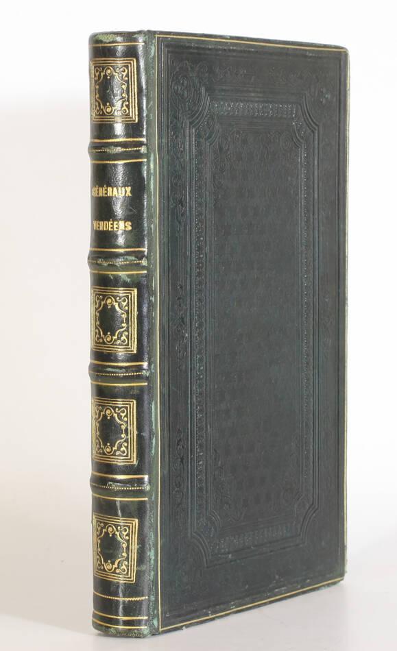 CRETINEAU-JOLY - Histoire des généraux et chefs vendéens - 1838 - EO - Photo 0, livre rare du XIXe siècle