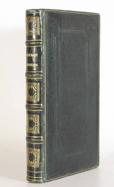 CRETINEAU-JOLY (Jacques). Histoire des généraux et chefs vendéens, livre rare du XIXe siècle