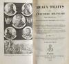 Beaux traits de l histoire militaire des Français - 1825 - 2 volumes - Photo 2, livre rare du XIXe siècle