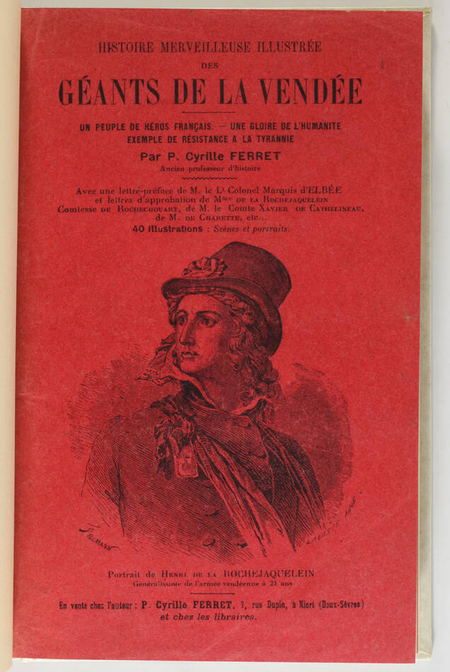 Ferret - Histoire merveilleuse et illustrée des géants de la Vendée - (1919) - Photo 1, livre rare du XXe siècle
