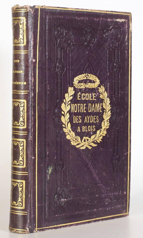 [Chanzeaux] QUATREBARBES - Une paroisse vendéenne sous la terreur - 1870 - Photo 0, livre rare du XIXe siècle