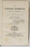 [Chanzeaux] QUATREBARBES - Une paroisse vendéenne sous la terreur - 1870 - Photo 1, livre rare du XIXe siècle