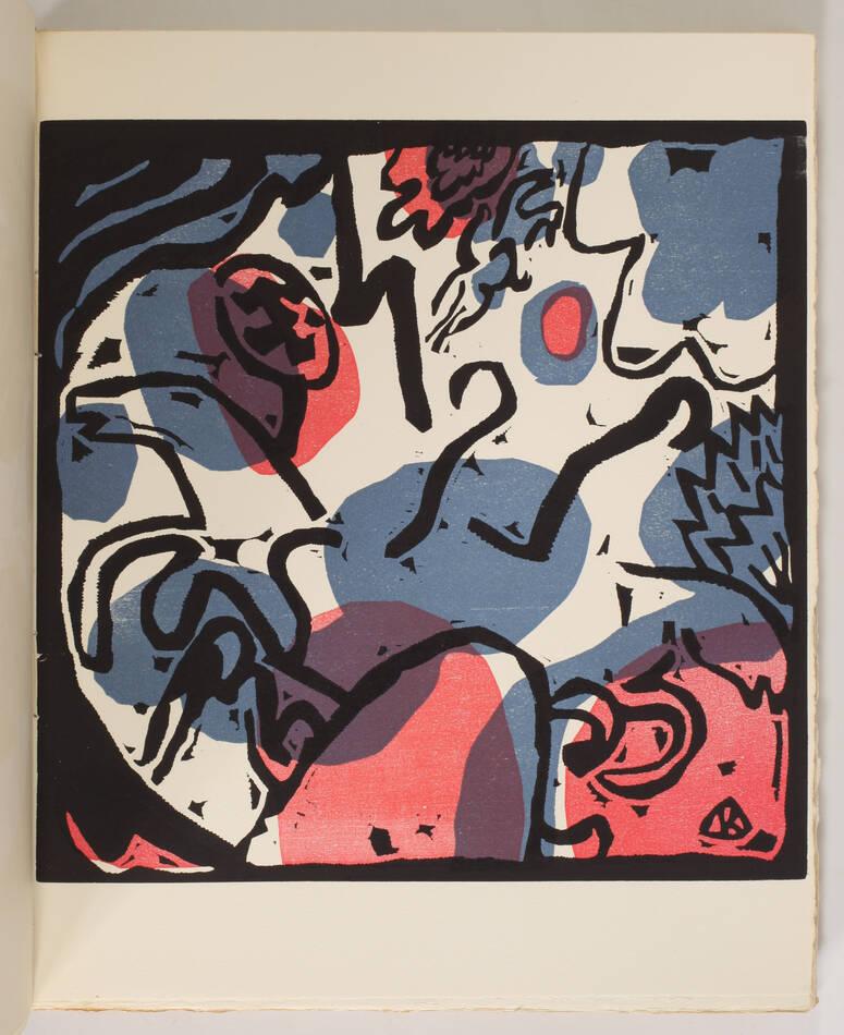 KANDINSKY - Du spirituel dans l art - 1949 - Grand bois gravé en couleurs - Photo 0, livre rare du XXe siècle