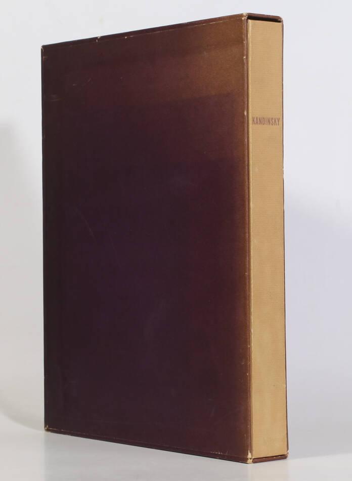 KANDINSKY - Du spirituel dans l art - 1949 - Grand bois gravé en couleurs - Photo 5, livre rare du XXe siècle