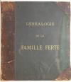 . Généalogie de la famille Ferté