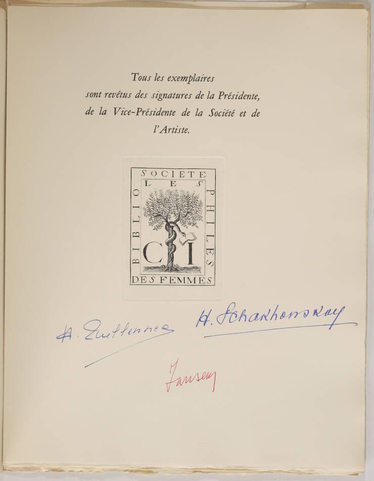 BAUDELAIRE - Le spleen de Paris - 1963 - 15 lithographies de JANSEM - Photo 2, livre rare du XXe siècle