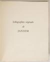 BAUDELAIRE - Le spleen de Paris - 1963 - 15 lithographies de JANSEM - Photo 4, livre rare du XXe siècle