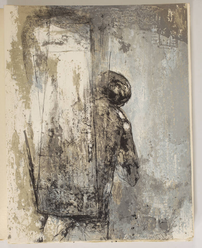 BAUDELAIRE - Le spleen de Paris - 1963 - 15 lithographies de JANSEM - Photo 5, livre rare du XXe siècle