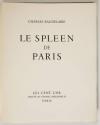 BAUDELAIRE - Le spleen de Paris - 1963 - 15 lithographies de JANSEM - Photo 6, livre rare du XXe siècle