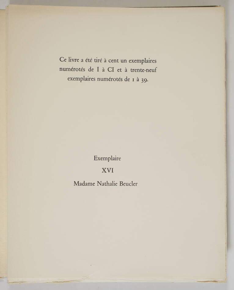 BAUDELAIRE - Le spleen de Paris - 1963 - 15 lithographies de JANSEM - Photo 7, livre rare du XXe siècle