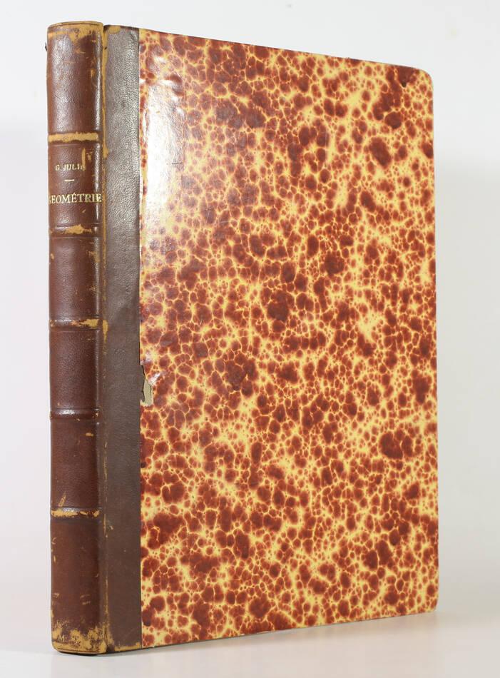 MATHEMATIQUES - Gaston JULIA - Cours de géométrie Ecole Polytechnique -1939-1940 - Photo 1, livre rare du XXe siècle