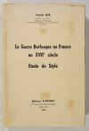 BAR (Francis). Le genre burlesque en France au XVIIe siècle