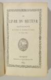 . Le livre du recteur. Catalogue des étudiants de l'Académie de Genève de 1559 à 1859