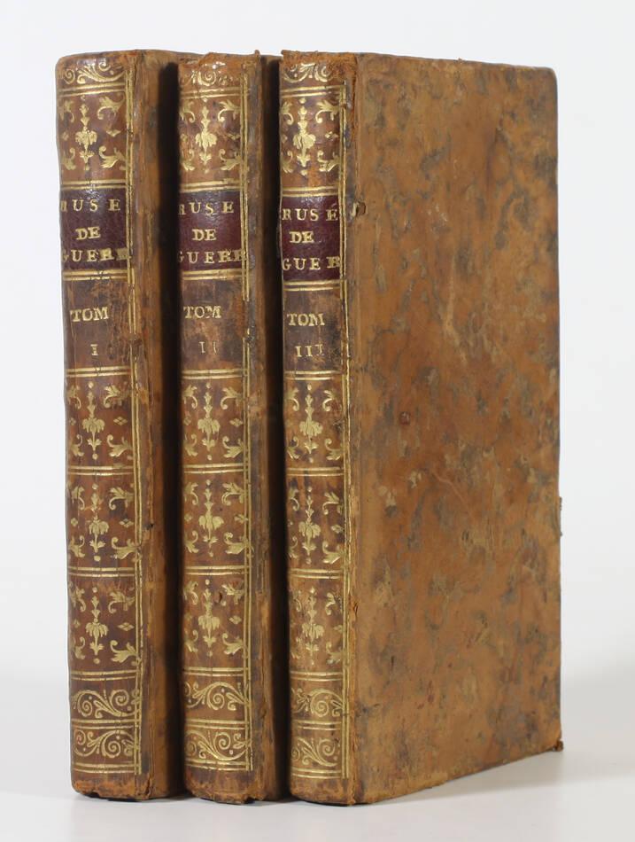 Les ruses de guerre de Polyen + Frontin - 1770 - 3 volumes - Lobineau et Perrot - Photo 0, livre ancien du XVIIIe siècle