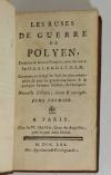 Les ruses de guerre de Polyen + Frontin - 1770 - 3 volumes - Lobineau et Perrot - Photo 1, livre ancien du XVIIIe siècle
