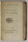 La Vicomterie - Crimes des rois de France - 1791 - Frontispice en couleurs - Photo 3, livre ancien du XVIIIe siècle