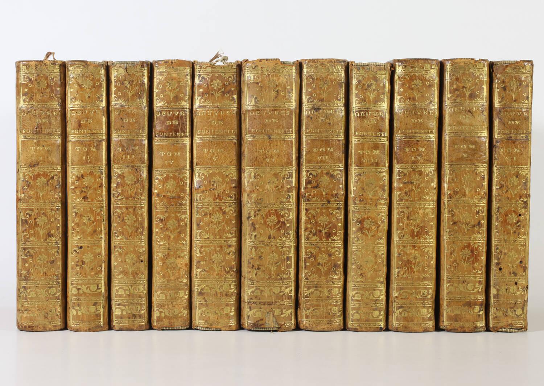 FONTENELLE - Oeuvres - 1767 - 11 volumes - figures - Photo 0, livre ancien du XVIIIe siècle