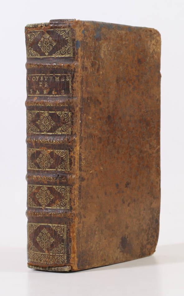 MOLIN - Coustumes de la prevosté et vicomté de Paris - 1678 - Photo 0, livre ancien du XVIIe siècle