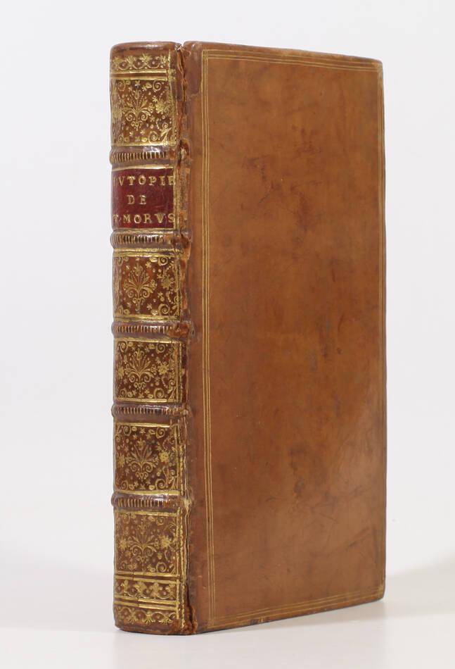 Thomas MORE - Idée d une république heureuse, ou l utopie - 1730 - Gravures - Photo 0, livre ancien du XVIIIe siècle